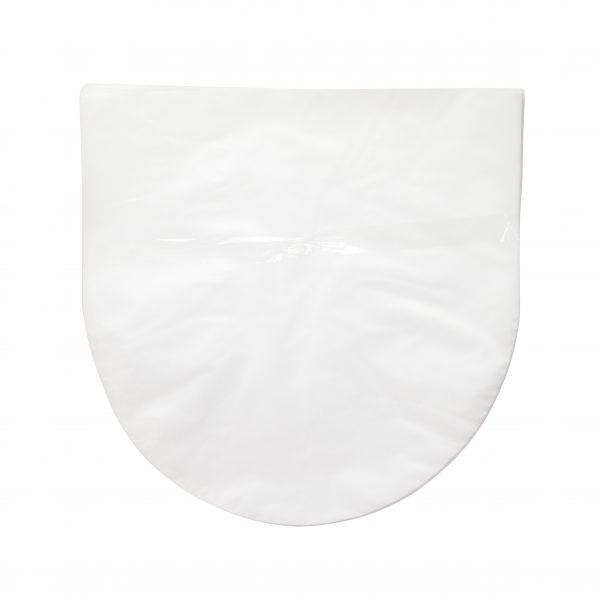 Afbeelding van 12 inch binnenhoes platen hoezen half rond (ook wel Blake sleeves) 30.6x30.5 cm