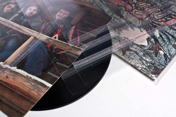 Afbeelding van 10 inch buitenhoes Kristalheldere LP/album Hoezen 27x26.4 cm + klep (100 stuks)