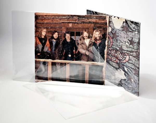 Afbeelding van 10 inch buitenhoes Kristalheldere LP/album hoezen zonder klep 27x26.4cm (100 stuks)
