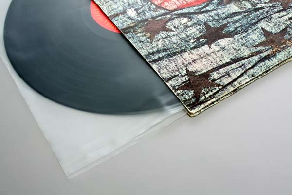 Afbeelding van 12 inch binnenhoes platen hoezen (met afgesneden hoeken) 30,6x30,5 cm